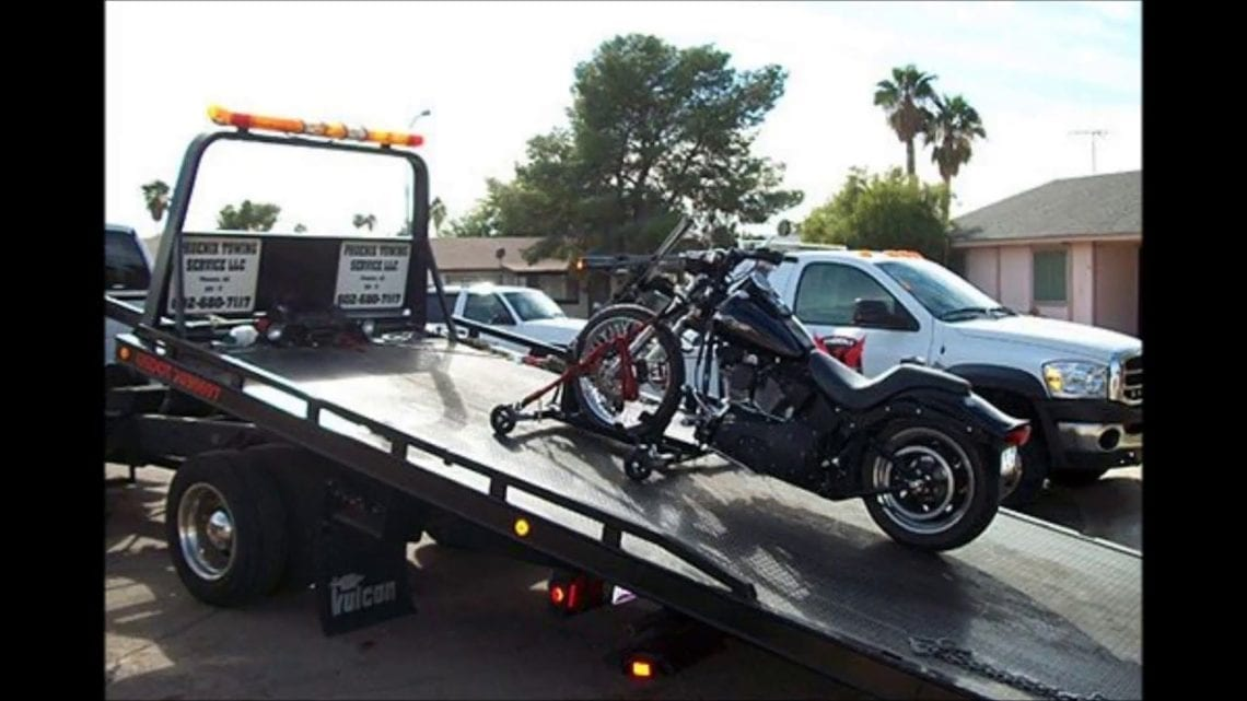 motor cycle tow truck