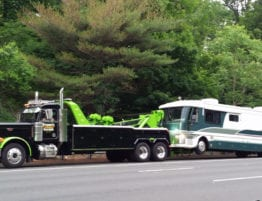 rv towing service louisville