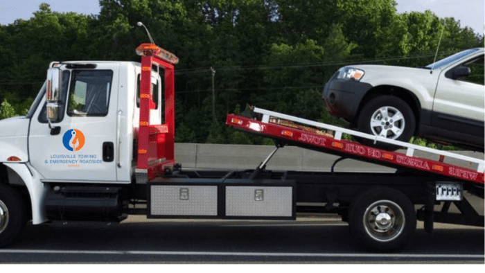 fb towing louisville ky company