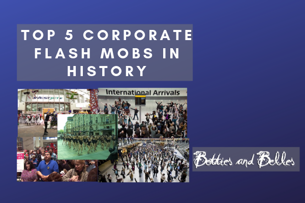 The Top 5 Corporate Flash Mobs In History