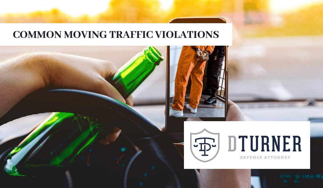 Common Moving Traffic Violations