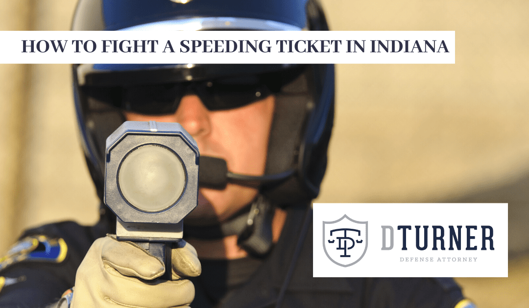 How to Fight a Speeding Ticket in Indiana