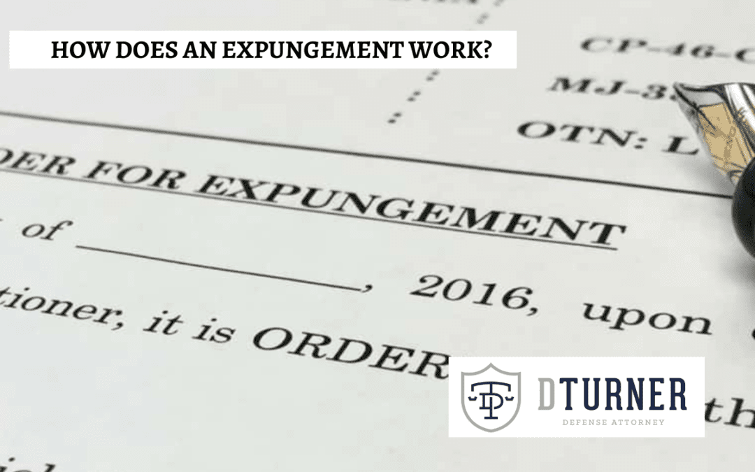 How Does an Expungement Work?