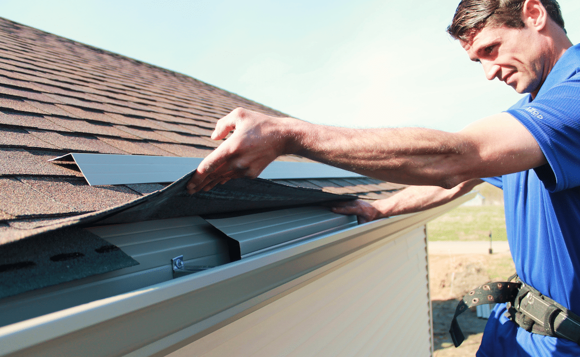 Need a Gutter Apron Installation? Call- 317-983-0258!!