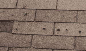 luxury home roofing damage