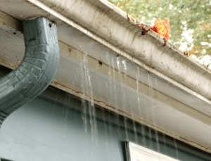 Winter time brings leaky and clogged gutters