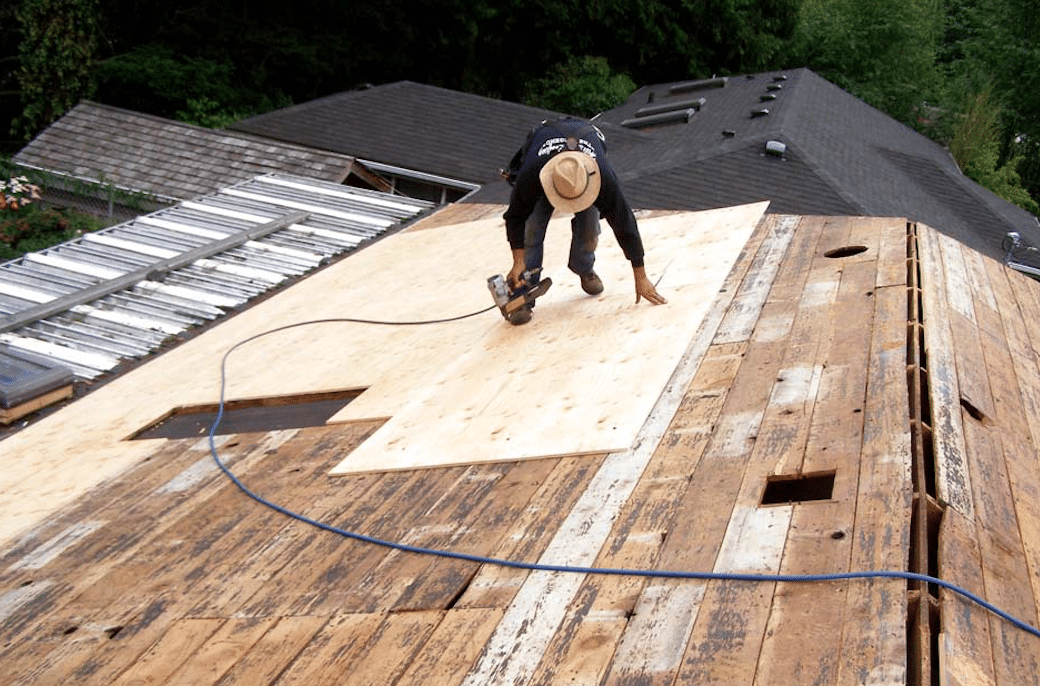 Looking for Roof Deck Repair? CALL 317-983-0258 NOW!!