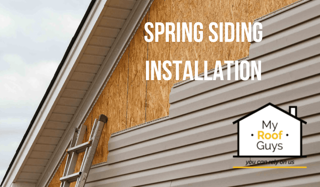 SPRING SIDING INSTALLATION