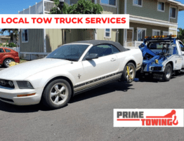 LOCAL TOW TRUCK SERVICE