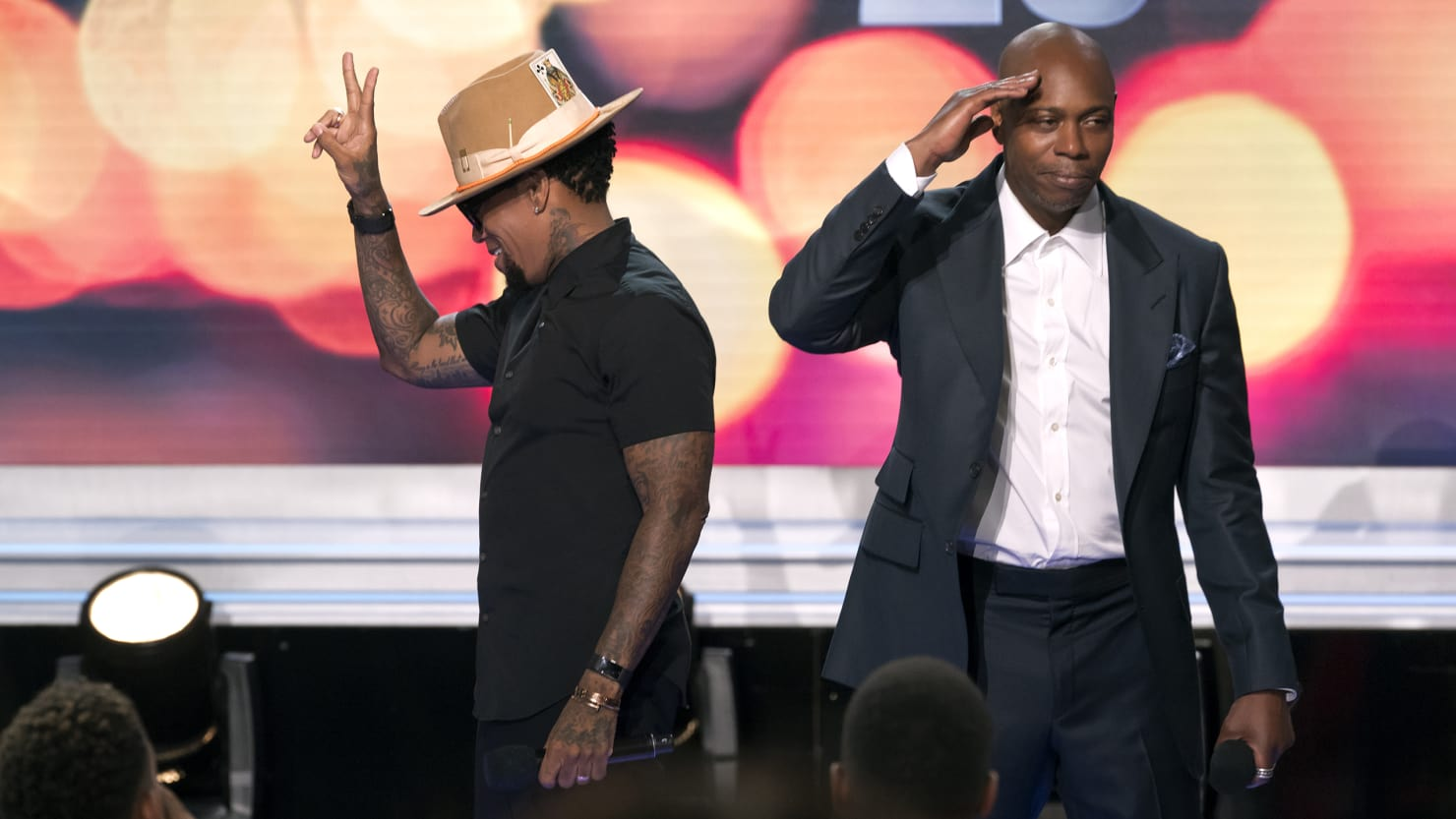 dave chappelle and DL Hughley