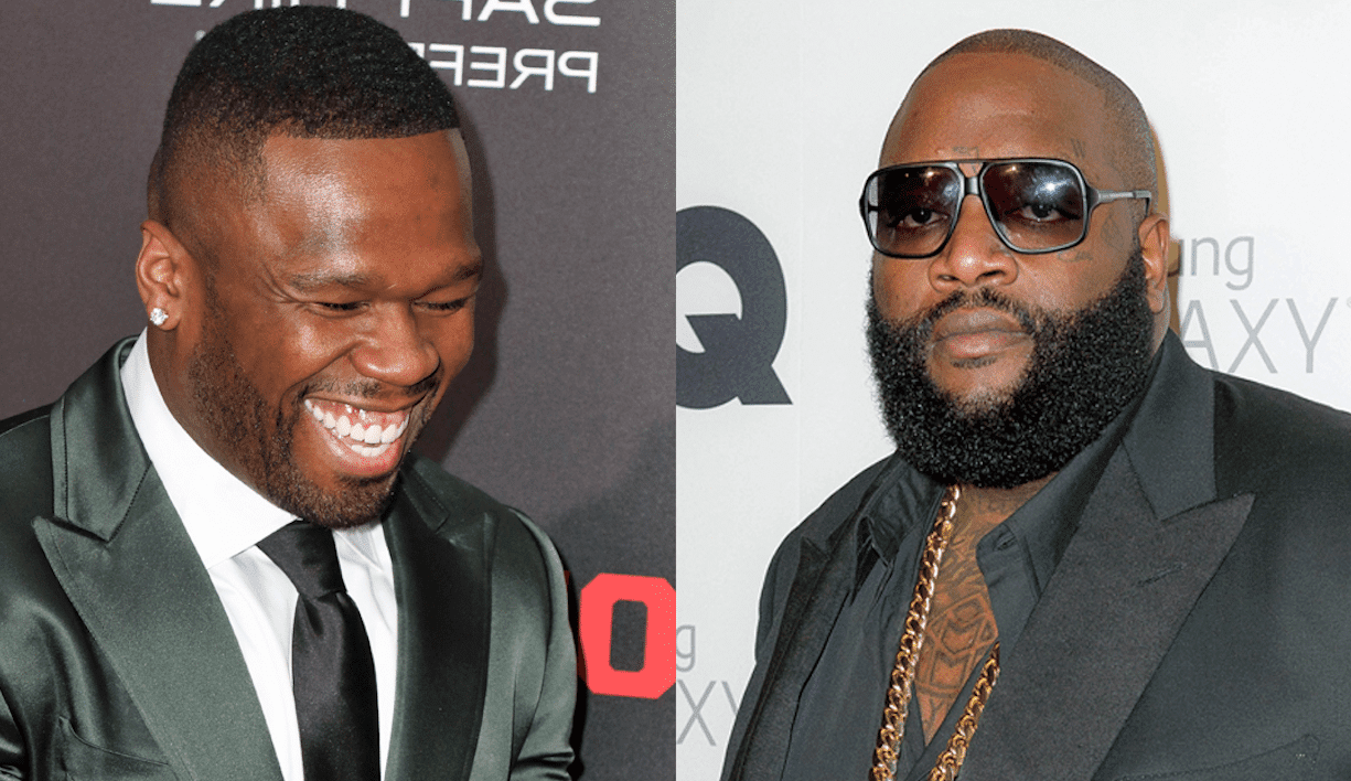 """It's no secret that 50 Cent has """"ill"""" (to put it nicely) feelings towards fellow rapper, Rick Ross. Ross was rushed to the hospital, after being found unresponsive in his Miami home. 50 Cent, who has been beefing with Ross since 2008, throws a major subliminal shot by posting a picture. Check out the story for more!"""