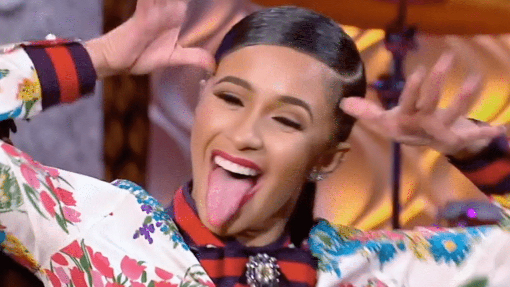 cardi b turns herself in to the police for strip club incident