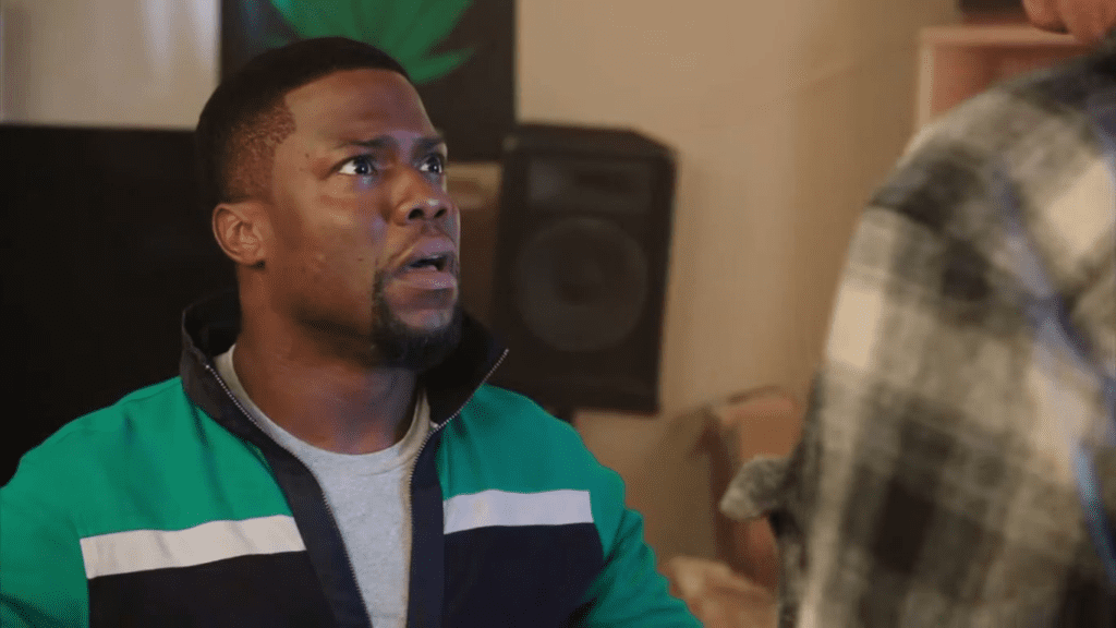 get hard was another was another one of kevin hart movies