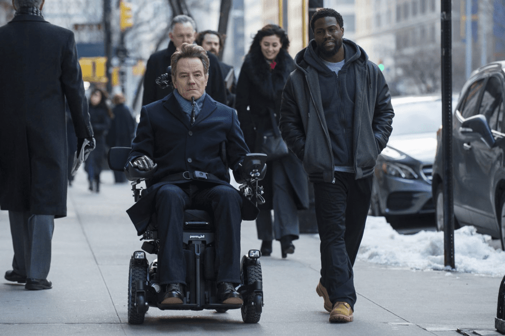 the upside with brian cranston is yet another kevin hart movies but this time it looks good
