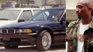 bmw tupac was shot in