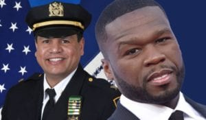 police commander and 50 cent