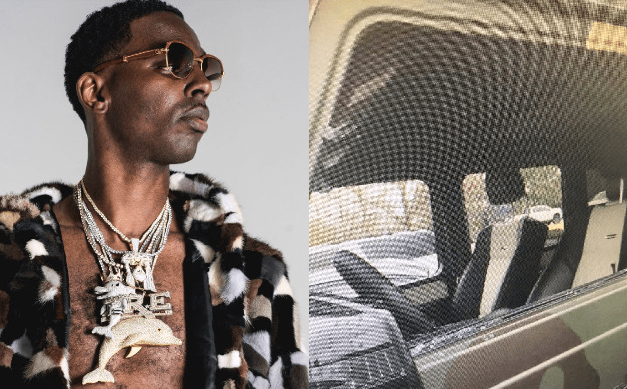 Rapper Young Dolph Mercedes SUV Was Robbed Of 500K