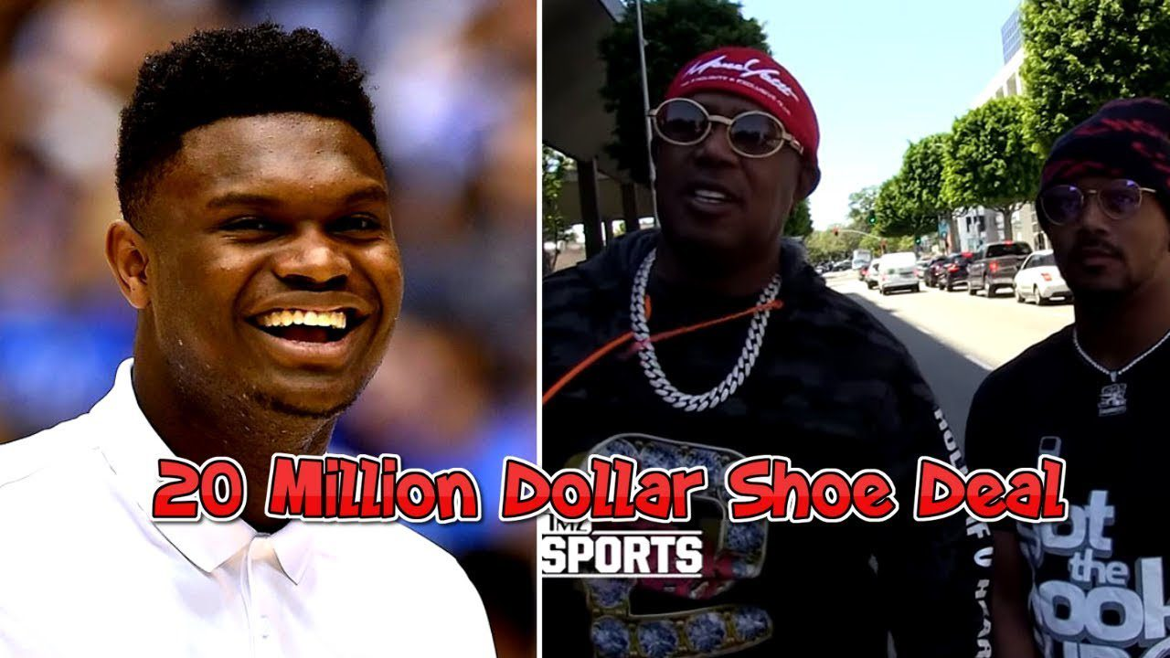Master P Offers Zion Williamson A 20M Shoe Deal