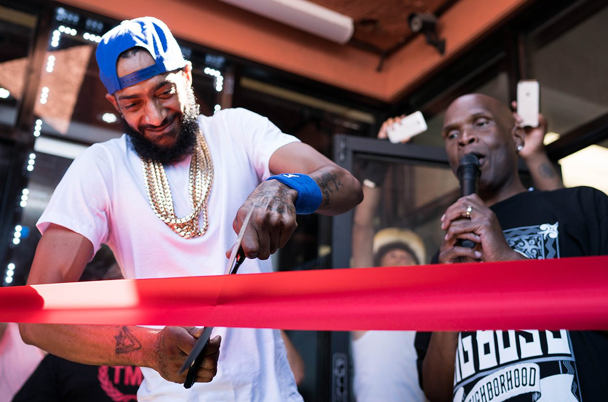 Nipsey Hussle's Marathon Store Has Surge In Online Purchases