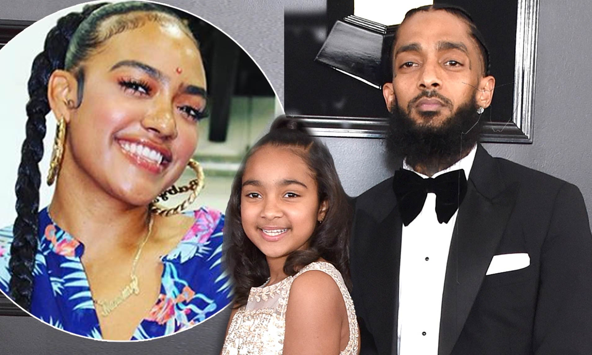 Mother of Nipseys Daughter Claims His Sister Kidnapped Emani