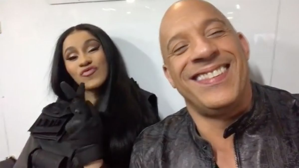 Cardi B Joins Fast And Furious 9!!!!!